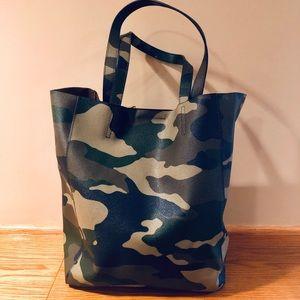 Banana Republic Camouflage Tote Bag